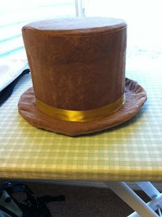 Top hat DIY. willy wonka & oompa loompa costumes
