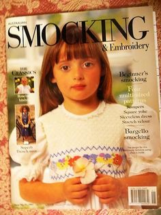 Australian Smocking & Embroidery ~ Issue No 41 - 1997 - Country Bumpkin