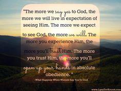 What Happens When Women Say Yes to God-Lysa TerKeurst, www.LysaTerKeurst.com