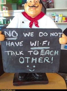 Talk to EACH OTHER!!!