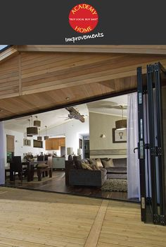 Beautiful Bi Fold Doors by Academy Home Improvements.   http://www.academyhome.co.uk/products/doors/bi-fold-doors