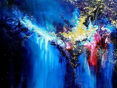 """Melissa Mccracken synesthesia painting - Etta James's """"At last"""""""