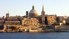 Valletta seafront