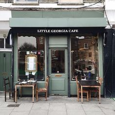 Little Georgia Cafe in East London, between Hackney City Farms & Broadway Market walking north from Hackney Road on Goldsmiths Row. The most interesting, beautiful family and woman proprietor here as well.