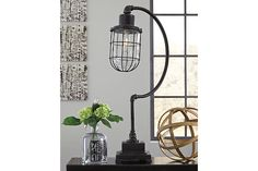 Jae Desk Lamp by Ashley HomeStore, Black