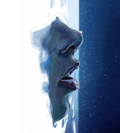 This looks like how I feel sometimes, gasping for air! ............beneath the surface
