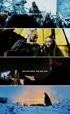 If you ever come back this way, I will execute you myself. #asoiaf
