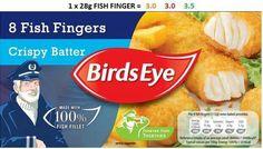 Fish Slimming World Free Foods, Syn Free Food, Fish Finger, Food And Drink, Birds, Eye, Green, Bird