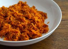 Paleo Spiced Sweet Potato and Carrot Hash.