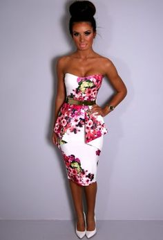 Shop women's clothes & the latest online ladies fashion at Pink Boutique UK. Celeb inspired clothing, party dresses, shoes & hair extensions with next day UK delivery. Pink Dress, New Dress, Peplum Dress, Strapless Dress Formal, Formal Dresses, Online Dress Shopping, Dresses Online, Party Dress, Fashion Dresses