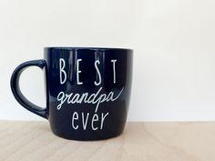 Best Grandpa Ever Mug // Best Grandpa Ever Coffee Mug // Coffee Mug for Grandfather // Gift for Grandpa // Father's Day Gift for Grandpa
