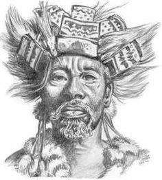 King Mzilikazi Khumalo, father to Lobengula and founder of the Matabele nation.