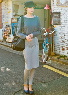 Today's Hot Pick :Cotton Leggings with Long Skirt http://fashionstylep.com/SFSELFAA0005988/bapumken1/out High quality Korean fashion direct from our design studio in South Korea! We offer competitive pricing and guaranteed quality products. If you have any questions about sizing feel free to contact us any time and we can provide detailed measurements.