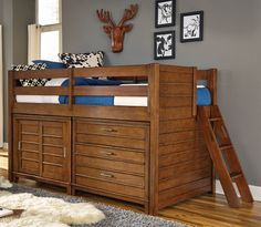 Twin Low Loft Bed. but so childish