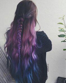 - All For Hair Color Balayage Beautiful Hair Color, Cool Hair Color, Chic Short Hair, Aesthetic Hair, Sleek Ponytail, Coloured Hair, Dream Hair, Purple Hair, Hair Looks