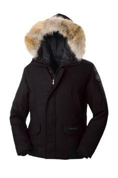 Canada Goose Outlet Men D'Alpago Bomber Parka Black With Huge Discount - €292.97