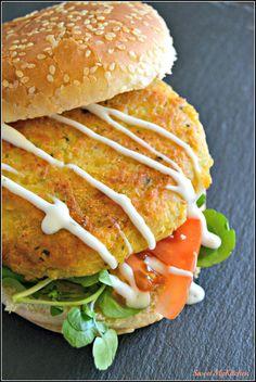 Sweet my Kitchen: Hambúrguer de grão-de-bico