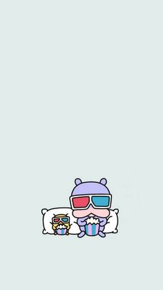 안늉하세요 어제 카카오 니니즈 캐릭터 소개와 함께 폰 배경화면을 만들어서 보여드렸었는데욥 오늘은 2탄 ... Mood Wallpaper, Kawaii Wallpaper, Lock Screen Wallpaper, Iphone Wallpaper, Kakao Friends, Aesthetic Drawing, Cute Wallpapers, Anime Art, Snoopy