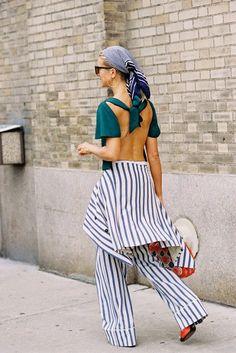 Natalie Joos of Tales of Endearment, after Karen Walker, NYC, September 2014 | Vanessa Jackman | New York Fashion Week SS 2015