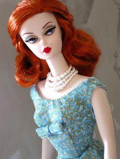 Ekaterina Silkstone Barbie by Poupée Chinoise, via Flickr