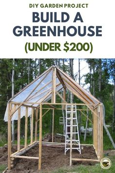 Diy Small Greenhouse, Diy Greenhouse Plans, Outdoor Greenhouse, Cheap Greenhouse, Greenhouse Growing, Greenhouse Gardening, Gardening Tips, Garden Sheds For Sale, Garden Shed Diy