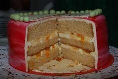 bisquit_buttercreme_mandarinen Butter, Vanilla Cake, Creme, Pie, Desserts, Food, Mandarin Oranges, Pies, Torte