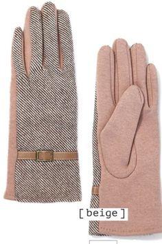 Buckle Winter Glove