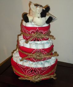 Cowboy Diaper Cakes for Boys Cute Baby Shower Gifts, Baby Shower Fun, Baby Shower Cakes, Baby Shower Themes, Baby Shower Decorations, Shower Ideas, Baby Gifts, Cowboy Diaper Cakes, Diaper Cake Boy