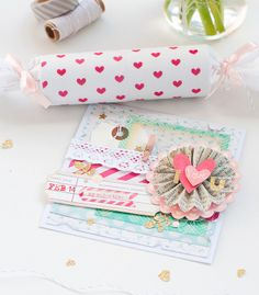 Valentine Popper and Card by Jayzee at @Studio_Calico