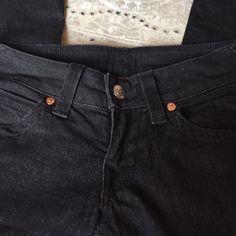 True Religion Black Jean Straight cut True Religion Jeans Boot Cut