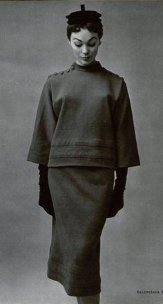 1951 Balenciaga @vintageclothin.com