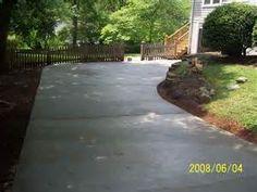 concrete driveways - Bing Images