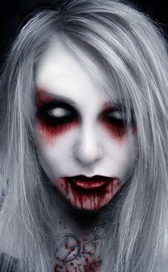 banshee by lilithvampiriozah on deviantart - Zombie Halloween Faces