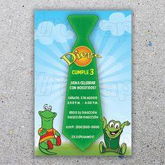 Atención Atención / Digital Printable Invitation by LetraPapel, $10.00