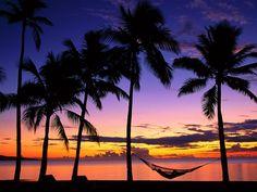 #Sonnenaufgang in #Fidschi, da lohnt es sich doch glatt früh aufzustehen..