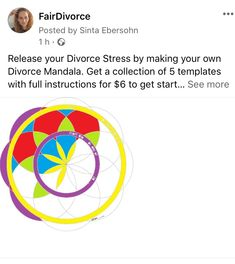 Collaborative Divorce, Divorce And Kids, Release Stress, Co Parenting, All Family, Get Started, Families, Mandala, How To Get