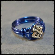 How to Make a Simple Wire Ring #howtomakerings #wireringshowtomake #wireringsdesigns