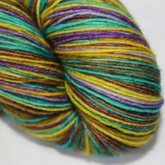 4ply self striping sock yarn - Legal High