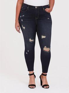Ex Mango White Paty Regular Waist Stretch Fabric Skinny Jeans