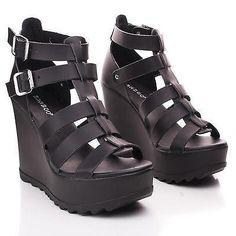 8d19d8100dfd 62 Best Gothic Sandals images