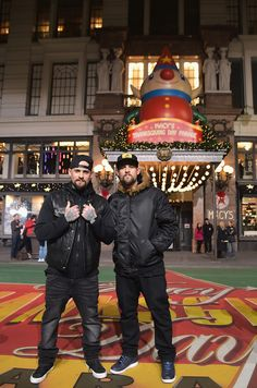 The Madden Brothers @ Macy's Thanksgiving Parade Rehearsals - Day 2 (Nov 25, 2014)