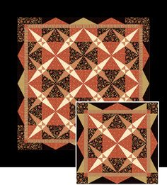 Twinkling star quilt pattern