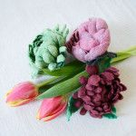 Craftspring - Silk Road Brooches Hand-felted by exceptional women artisans.
