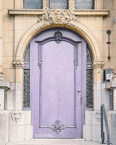 Lavender Door Paris, France