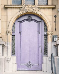Lavender Door Paris, France