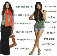 dress how you wanna dress. it doesn't say anything about you unless you want it to. .