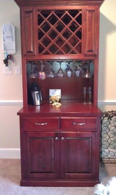 I would like to have this wine cabinet in my kitchen.