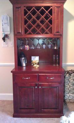 wine cabinet...just a diff colour