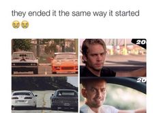 The Fast and The Furious to Fast and Furious 7 // Brian O'Conner Paul Walker Quotes, Rip Paul Walker, Furious Movie, The Furious, Love Movie, Movie Tv, Fast And Furious Memes, Dominic Toretto, Ludacris