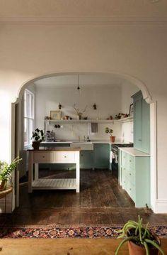 Home Interior Decoration .Home Interior Decoration Design Loft, Layout Design, House Design, Garden Design, Design Ideas, Home Decor Kitchen, Interior Design Kitchen, Room Kitchen, Dining Room